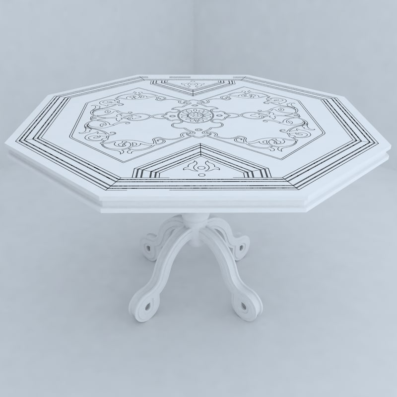 table designs 3d max
