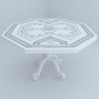 table designs 3d max