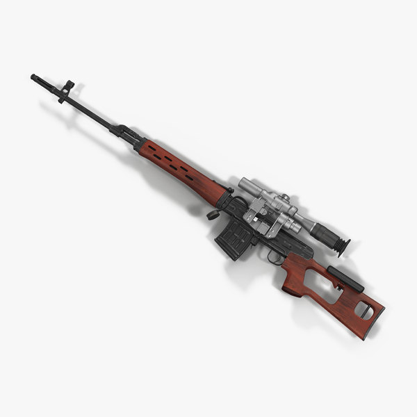 max russian svd rifle wooden