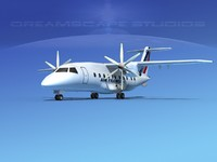 dornier turboprop 3d max