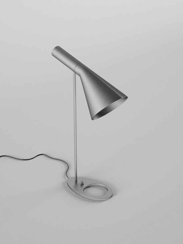 arne lamp c4d