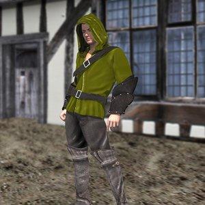 fantasy medieval 4 m4 3d pz3