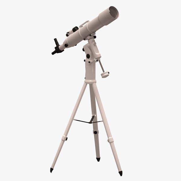 3d model telescope