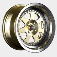 rim drag dr-27 wheel 3d model