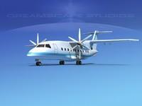 propellers dornier turboprop 3d max