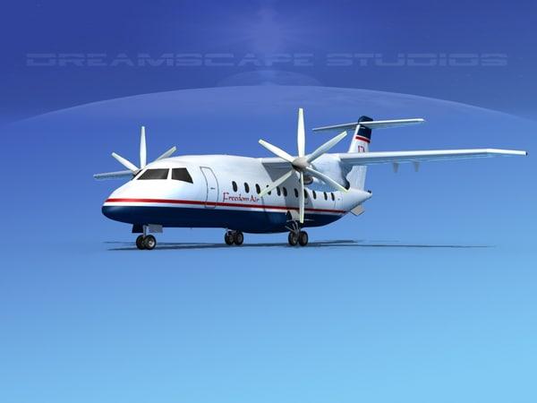 dornier do-328-130 3d model