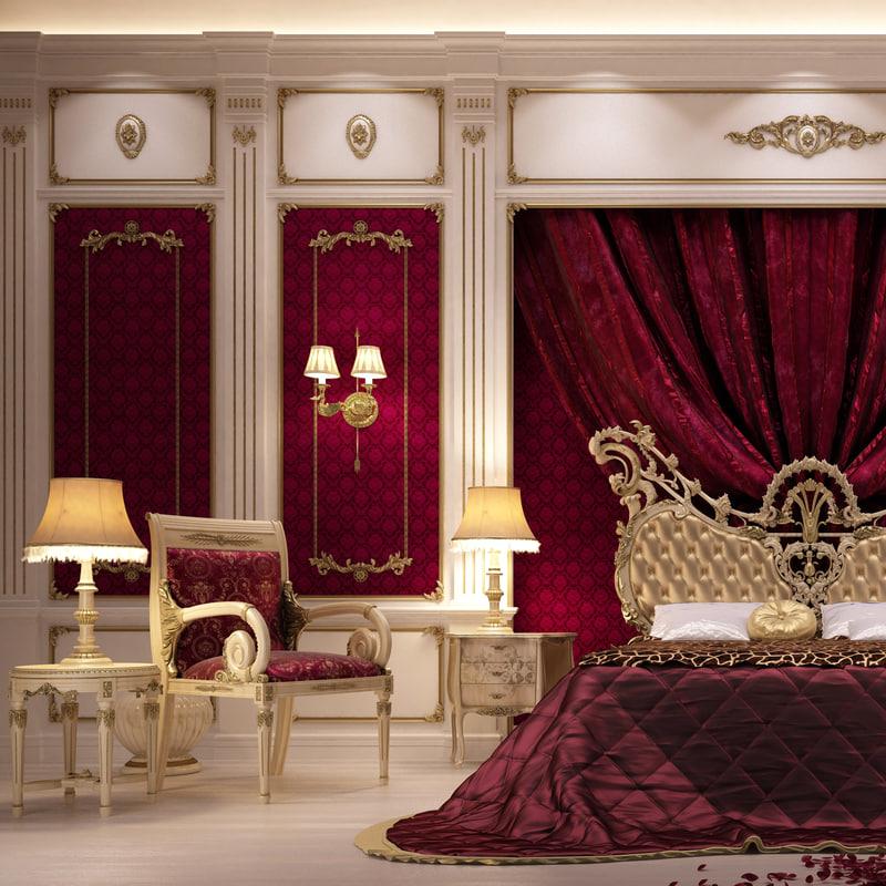 scenes bed asnaghi interiors 3d max