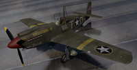 3d north american a-36 apache model