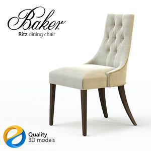 dining chair baker ritz max
