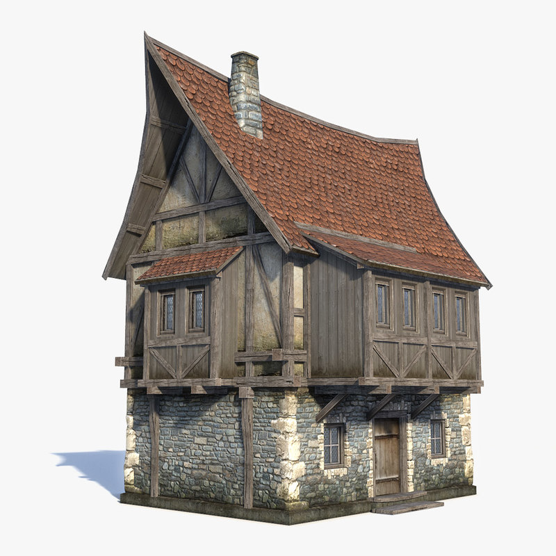 medieval fantasy house 3d 3ds