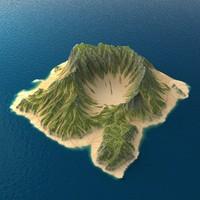 tropical island terrain 6 max