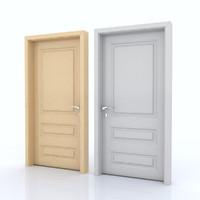 3d door room