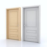 3d c4d door room