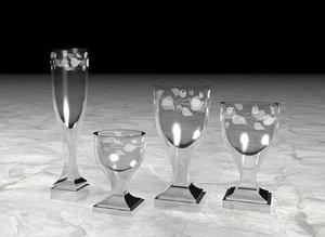 gustav iii swedish glasses 3d fbx