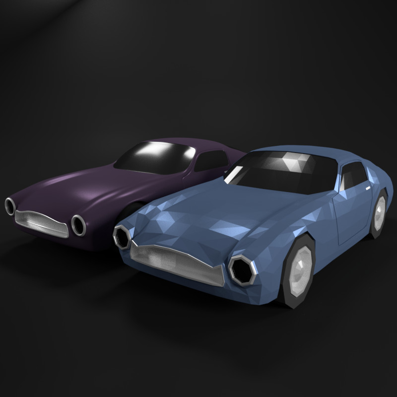 3d model super car supercar
