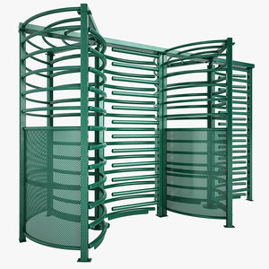 3d max turnstile subway