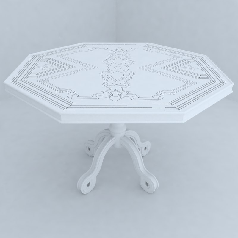 3d table designs model