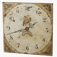 3d old clock model