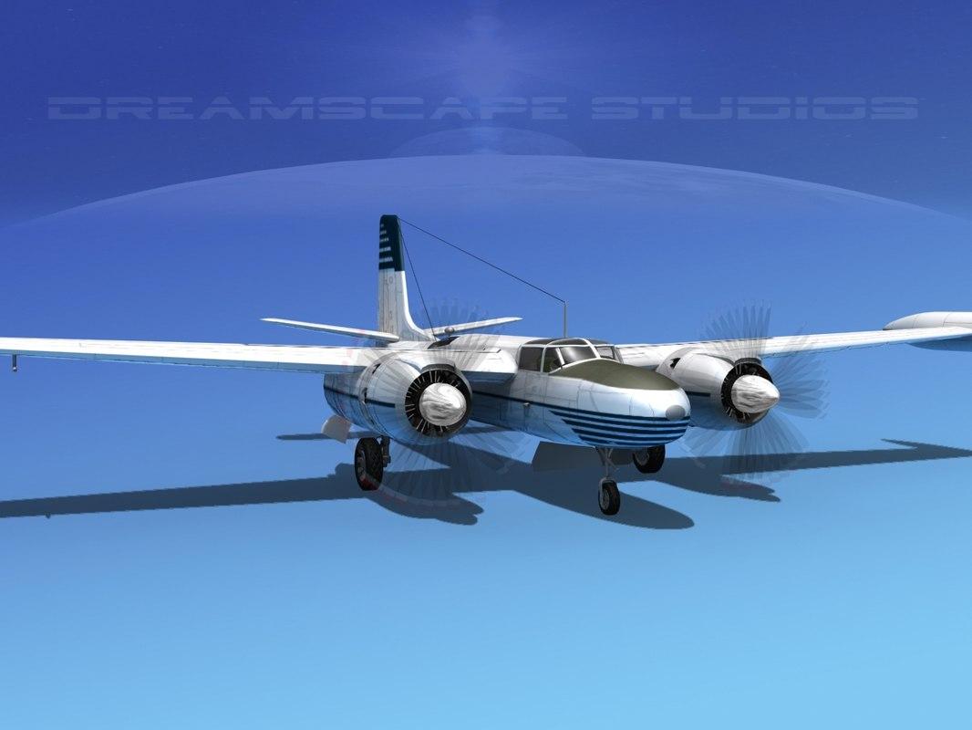 propeller mark marketeer b-26 3ds