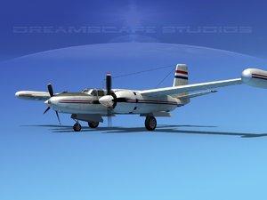 propeller mark marketeer b-26 3d max