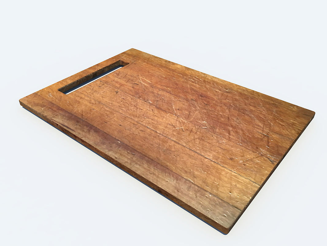 3d model cutting board