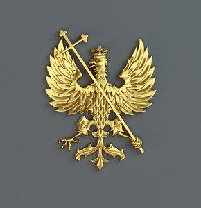 3d eagle gerb