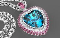 necklaces 3d model