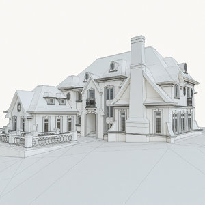 max luxury mansion house building