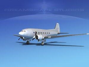 douglas c-47 dakota 3d 3ds