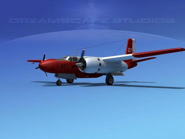 3ds propeller douglas 322