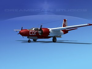 3d propeller douglas 322