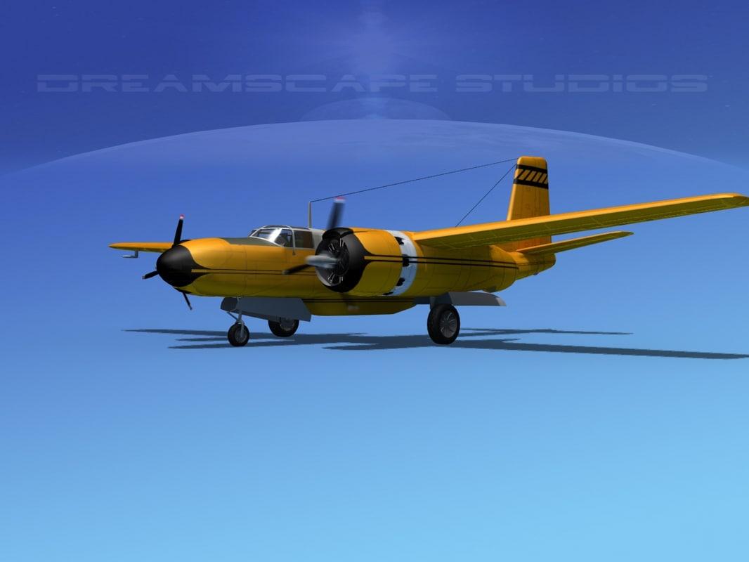 3d 3ds propeller douglas 322