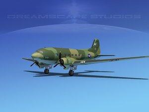 douglas c-47 dakota 3ds