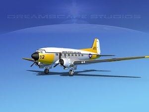 3ds douglas c-47 dakota