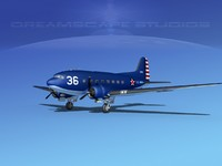 3d douglas dakota