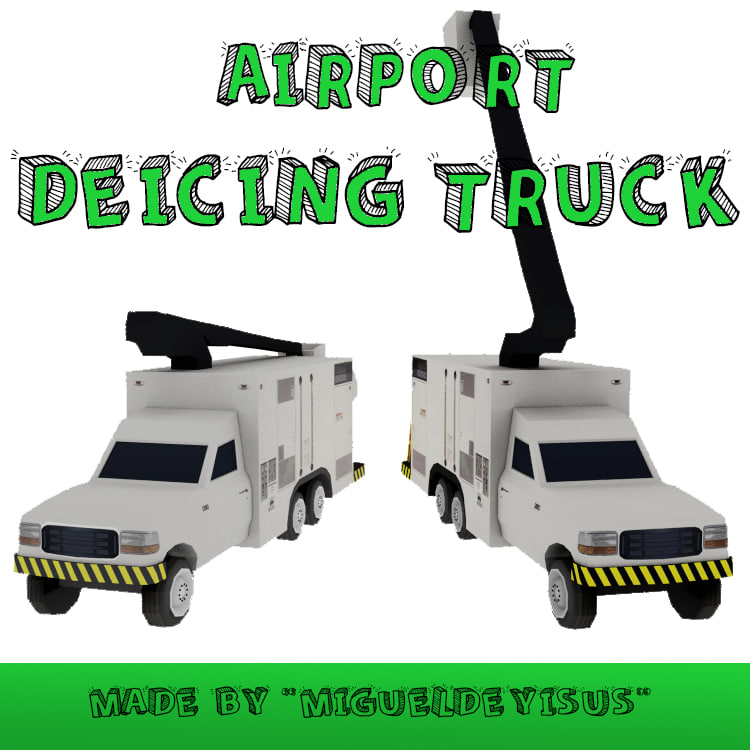catering truck 3d model