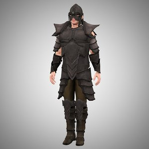 3d armor m4 model