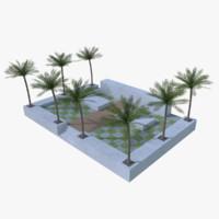 original garden 3d model