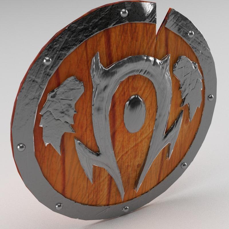 warcraft shield 3ds
