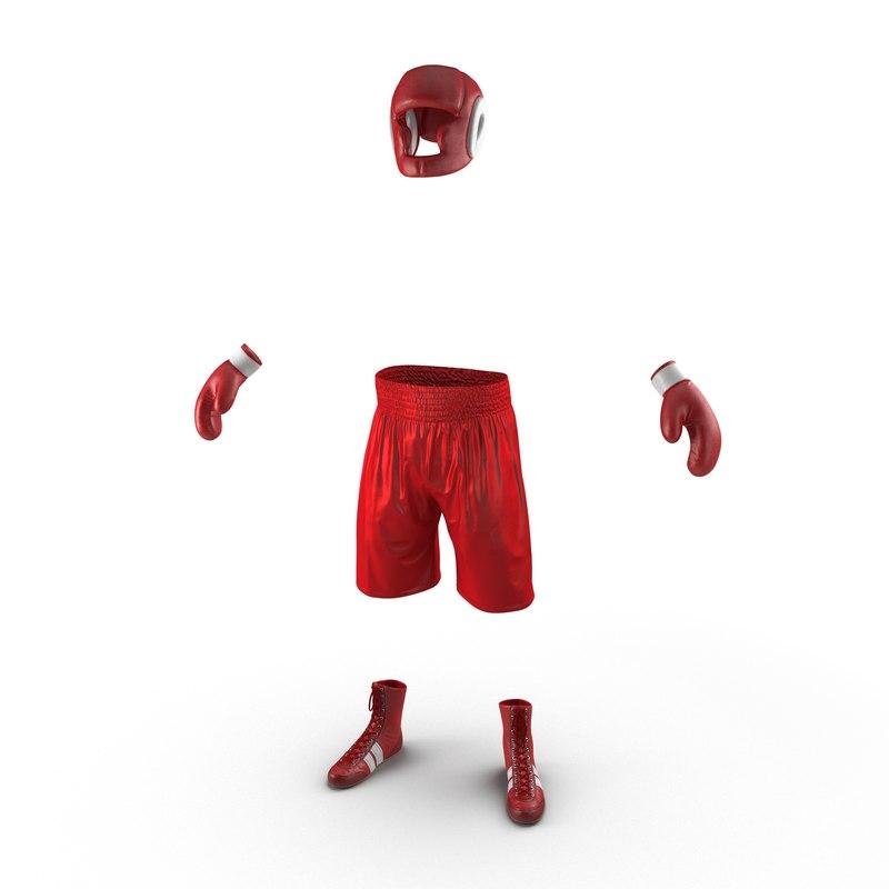 3d gear boxing model