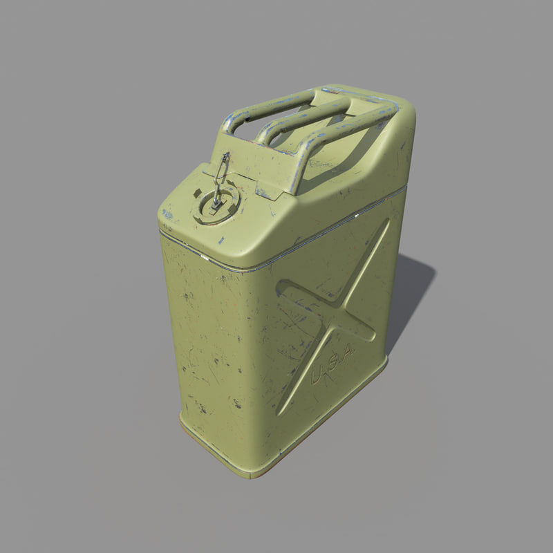 jerry caniester pbr 3d model