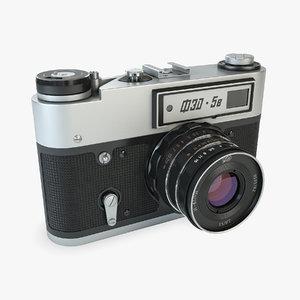 3d model soviet fed-5v