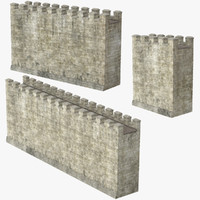 Castle Wall Set