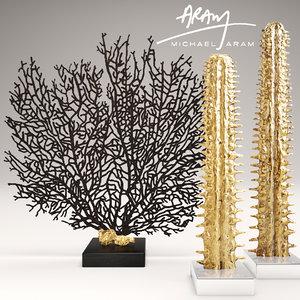 3d model michael aram sculpture