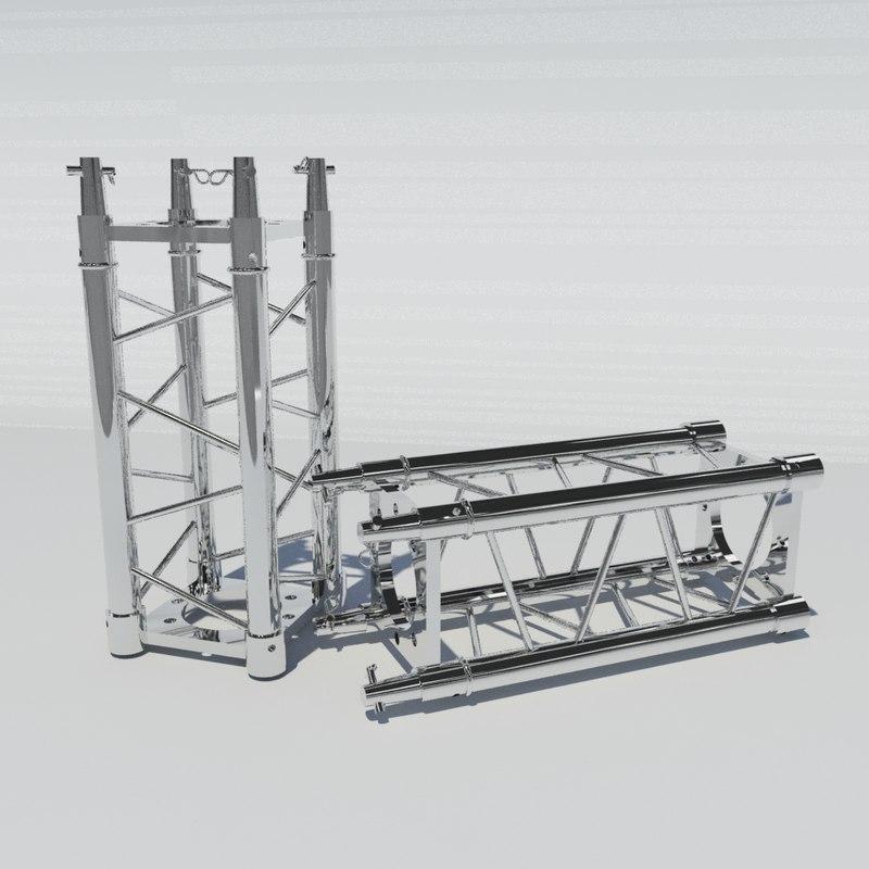 3ds truss light visual