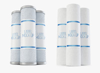 3d water filter mock