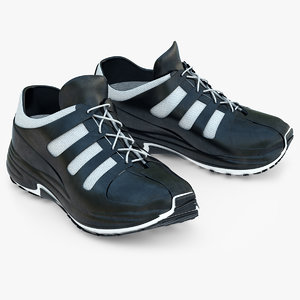 3d sneakers running shoes model