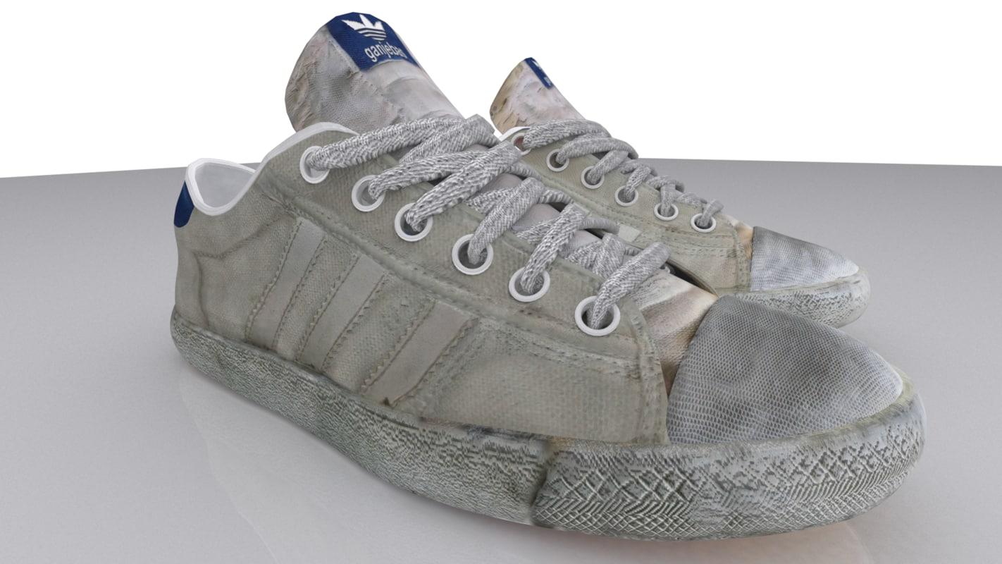 ganjebas sport shoes n2 3d max