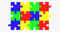 3d model puzzle images