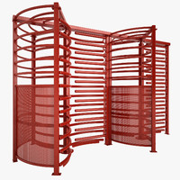 turnstile subway 3d max